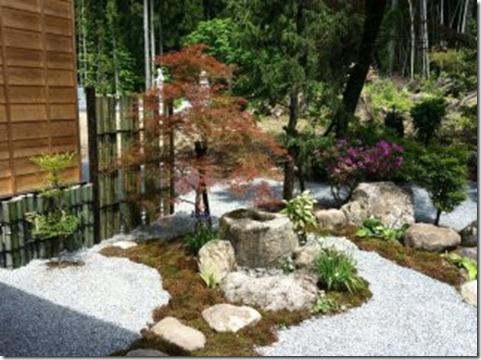 茗荷寺の庭